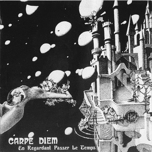 Carpe Diem (8) ‎– En Regardant Passer Le Temps : Lion Productions ‎– LION LP-172 : Vinyl, LP, Album, Reissue, Remastered, Stereo