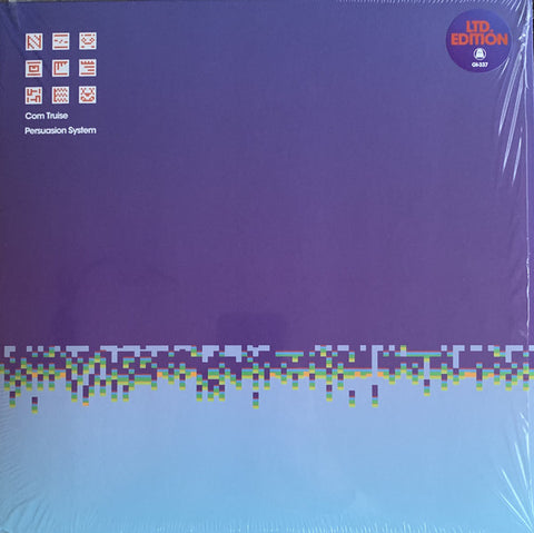 Com Truise ‎– Persuasion System : Ghostly International ‎– GI-337 : Vinyl, LP, Album, Limited Edition, Sky Blue