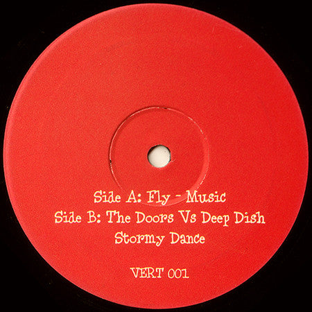 "Various ‎– Stormy Dance / Fly Music : Not On Label ‎– Vert001 : Vinyl, 12"", Unofficial Release"