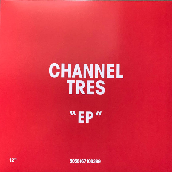 "Channel Tres ‎– EP : Godmode ‎– GM145 Series: Vinyl Me, Please. Rising – GM145 : Vinyl, 12"", 33 ⅓ RPM, EP, Club Edition, Limited Edition, Numbered, Red & White Split"