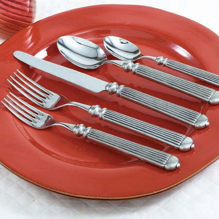 Capitol Pewter 5 Piece Place Setting