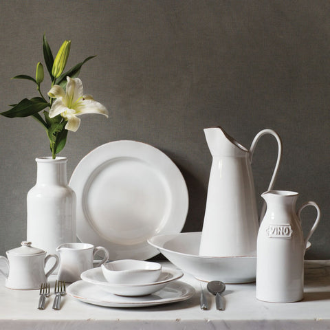 Bianco White Dinnerware - Service for 4