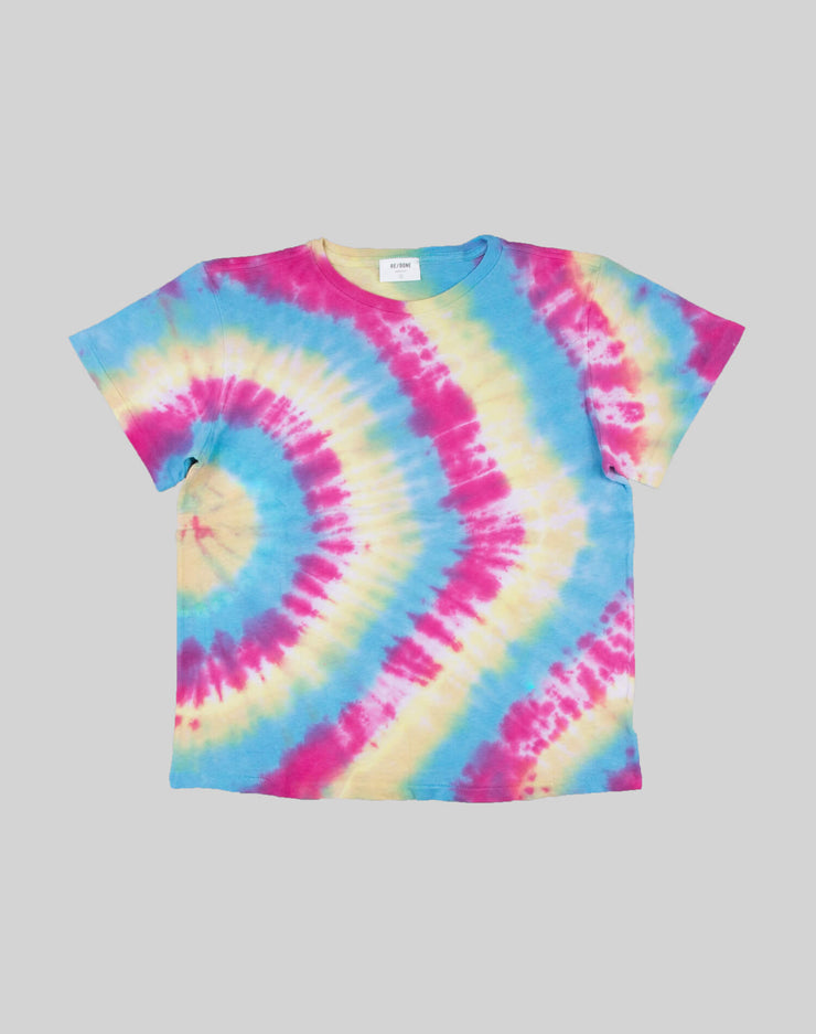 The Classic Tee - Side Ray Tie Dye