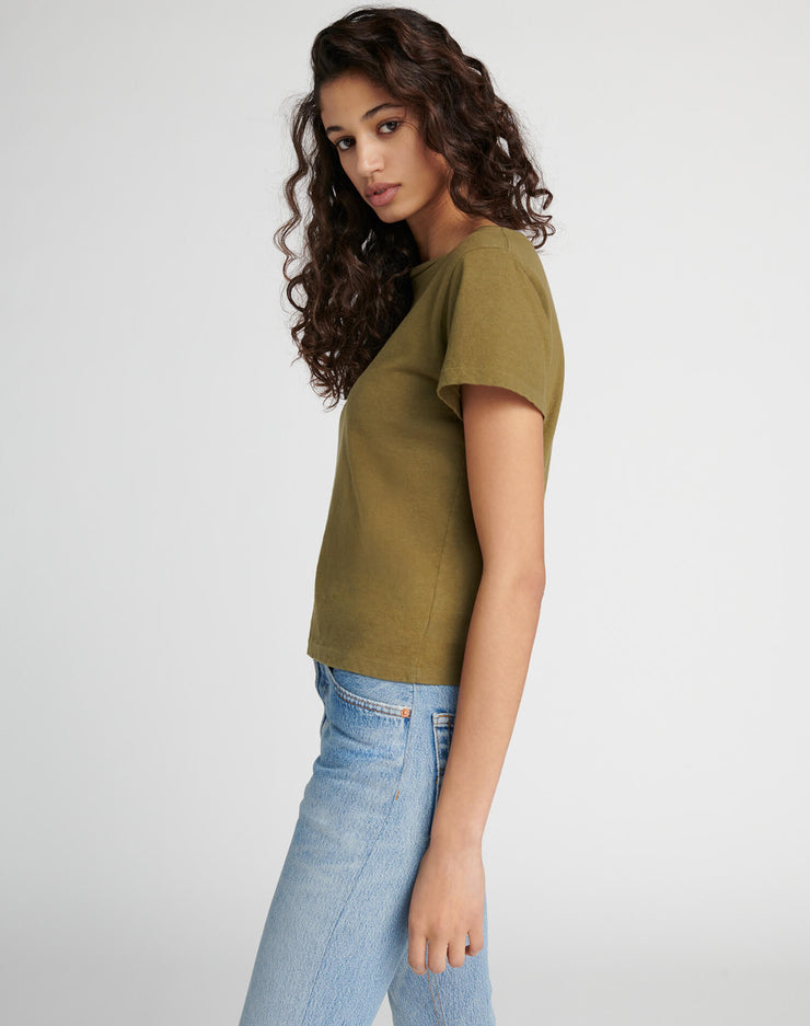Heritage Cotton Classic Tee - Army Green