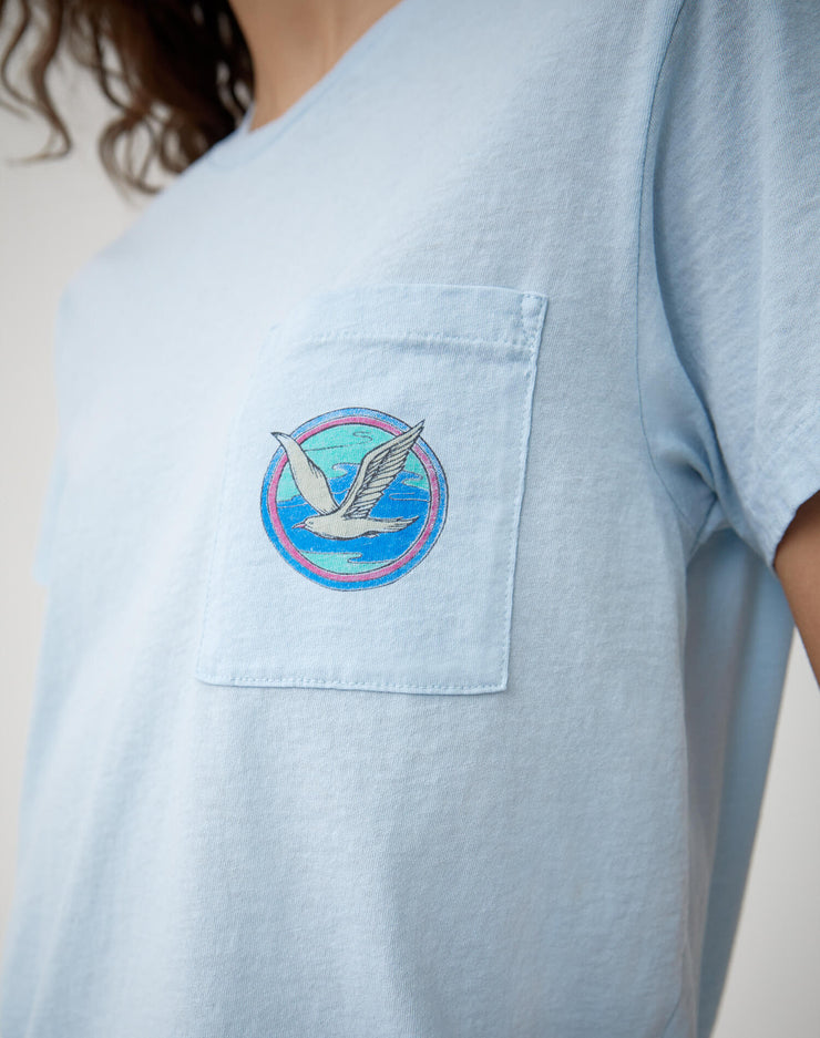 "The Boyfriend ""Ocean Dreams"" Tee - Blue"