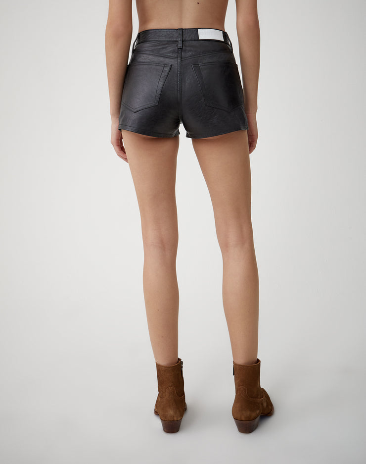 Leather Short | Black | 750-9WLES | 4