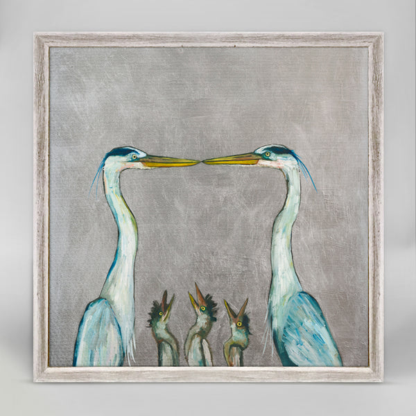 "Great Blue Heron Mini Print 6"" x 6"""