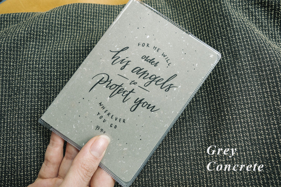 The-Commandment-Co-passport-cover-He-will-order-his-angels-to-protect-you-wherever-you-go-grey-color