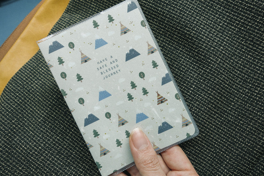 Have a safe and blessed journey {Passport Cover}
