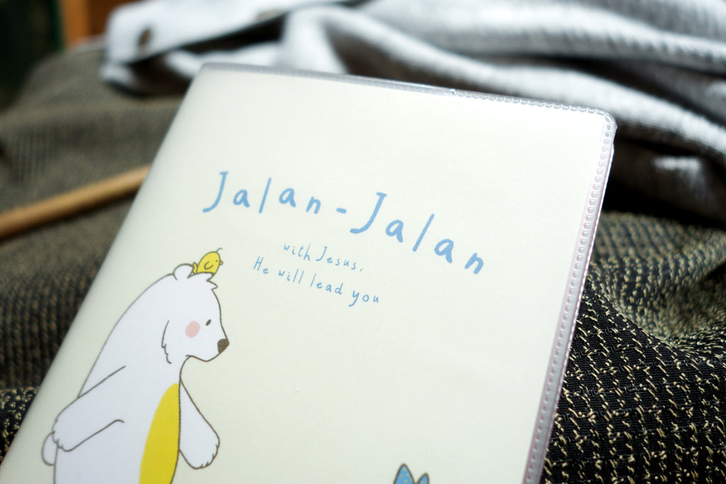 Jalan-Jalan With Jesus {Passport Cover}
