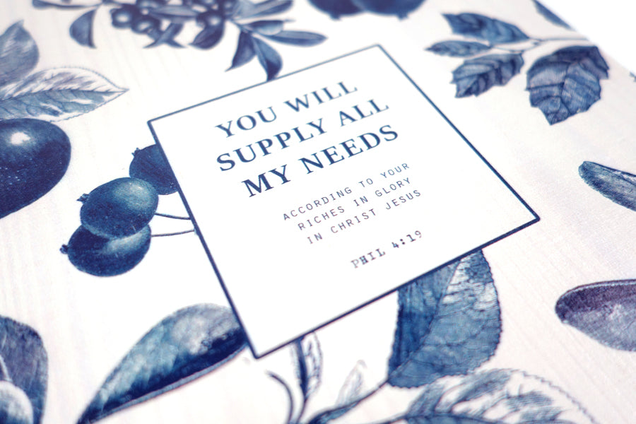 You Will Supply All My Needs {Wood Board}