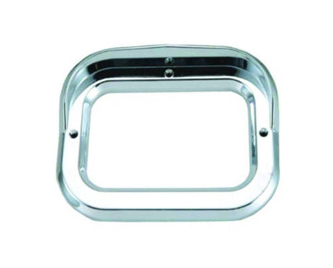 F235340 | RECTANGULAR BEZEL WITH VISOR CHROME