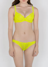 Load image into Gallery viewer, Classic Lace Bikini Brief in Fluorescent Colors - DEBORAH MARQUIT