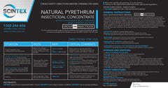 Natural Pyrethrum Concentrate (ULV & Thermal Fogging)