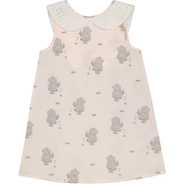Elephant Princess Peter Pan Dress