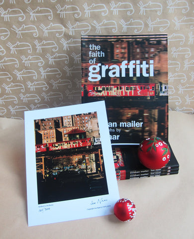 INTERNATIONAL: Faith of Graffiti + Original Jon Naar Print -- 35% off