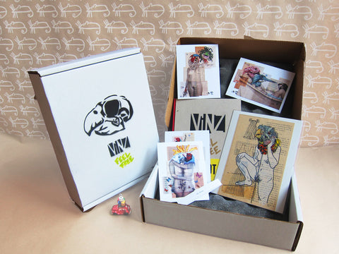INTERNATIONAL: Limited Edition Vinz Feel Free Box Set (5 boxes left)