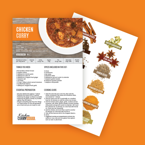 Chicken Curry Recipe & Spice Kit