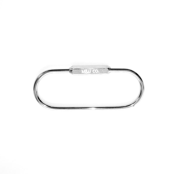 Pill Keyring - Chrome