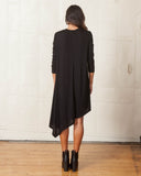 Fifth Label Black Time Lapse Long Sleeve Dress