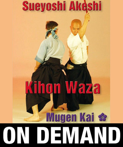 Iaido Kihon Waza by Sueyoshi Akeshi (On-Demand) - Budovideos