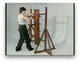 Wing Chun Wooden Dummy Form part 5 Basic Drills by Randy Williams (On Demand) - Budovideos