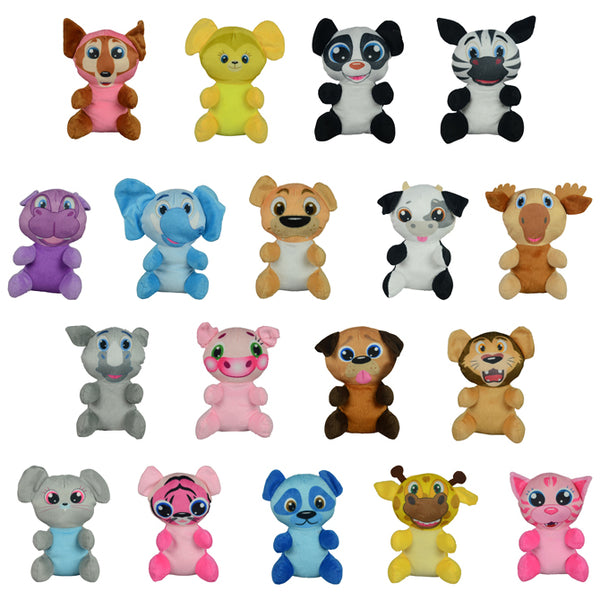 Non-Licensed Small Plush Mix 144 ct