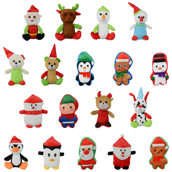 Christmas Non-Licensed Small Plush Mix - 144 ct