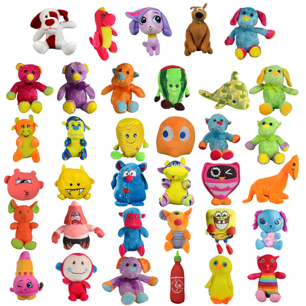 25% Licensed Small Plush Mix - 144 ct