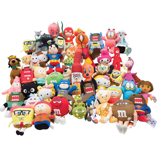 100% Licensed Small Plush Mix - 150 ct