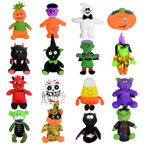 Halloween Non-Licensed Jumbo Plush Mix - 50 ct
