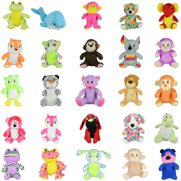 Jumbo Generic Plush Mix #16 50 ct