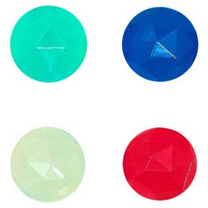 32 mm Glow in the dark diamond bouncy balls