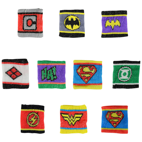 Dc comics superhero villain wristbands two inch capsule toys product detail superman batman