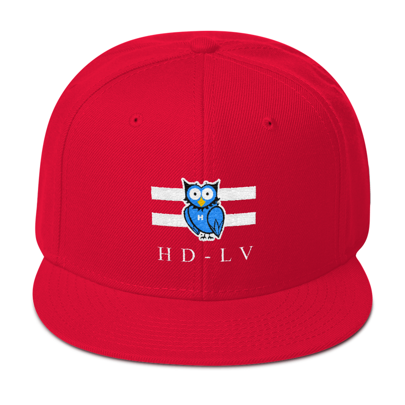 HD-LV Classic Snapback - Red