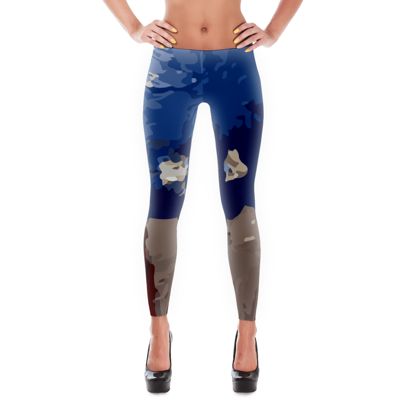 Paint The USA Leggings for Women