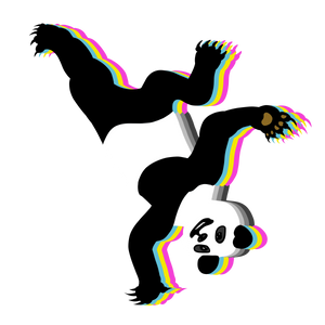 Panda Breaker | Black Shirt