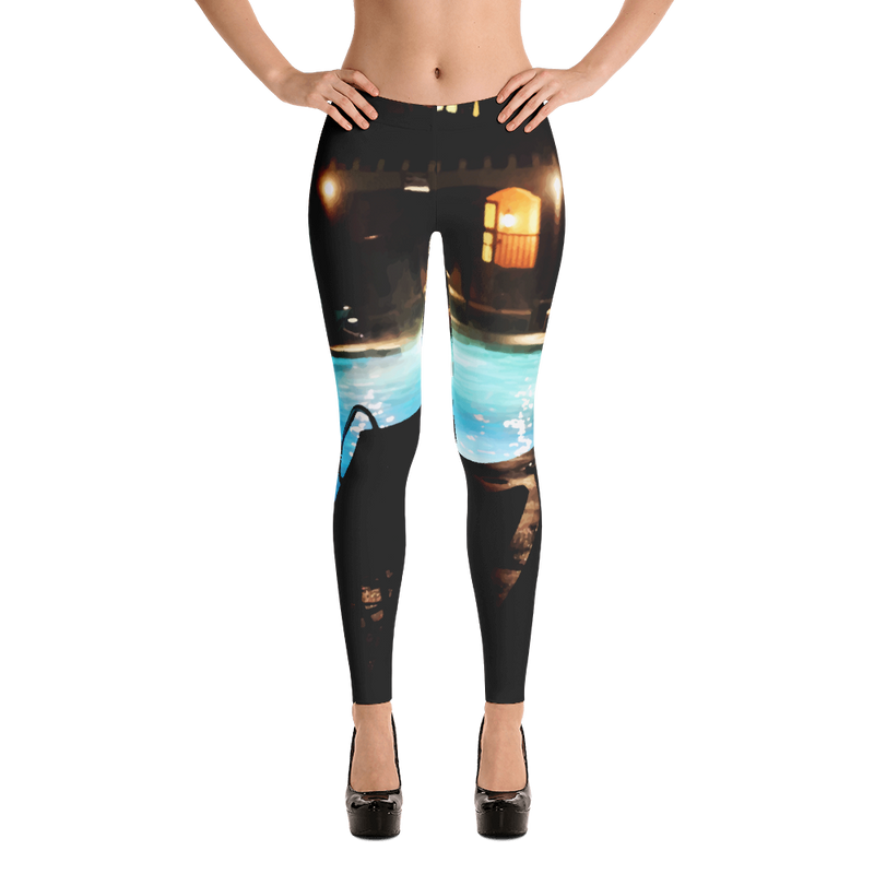 Pool Side Leggings for Women
