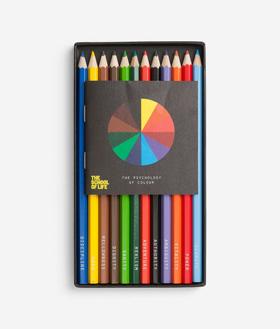 The Psychology of Colour Pencil Set - 1