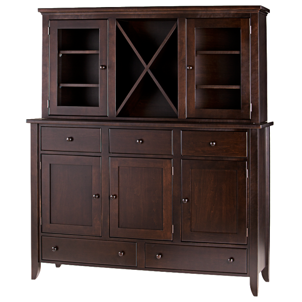 Tapered Leg Dining Chest Hutch