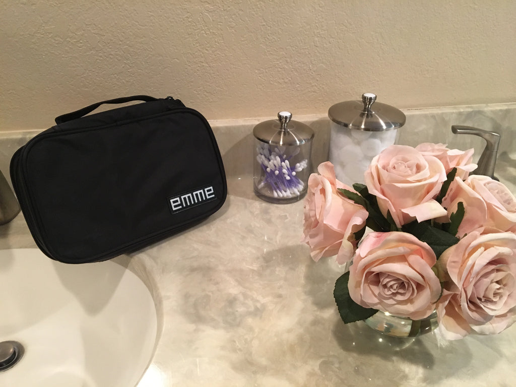 EMME Petite - Small Cosmetics and Toiletries Travel Bag
