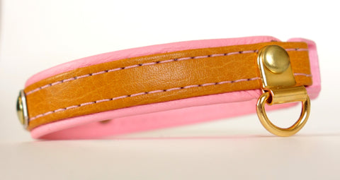 Leather Double Layer Cat Collar Customized