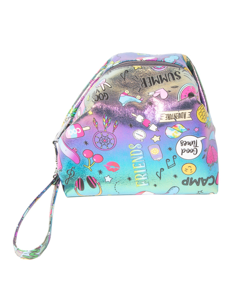 Bari Lynn Galaxy Cosmetic Bag