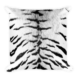 Tiger Pattern Throw Pillow