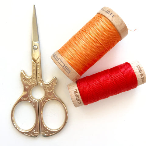 Guitar Embroidery Scissors