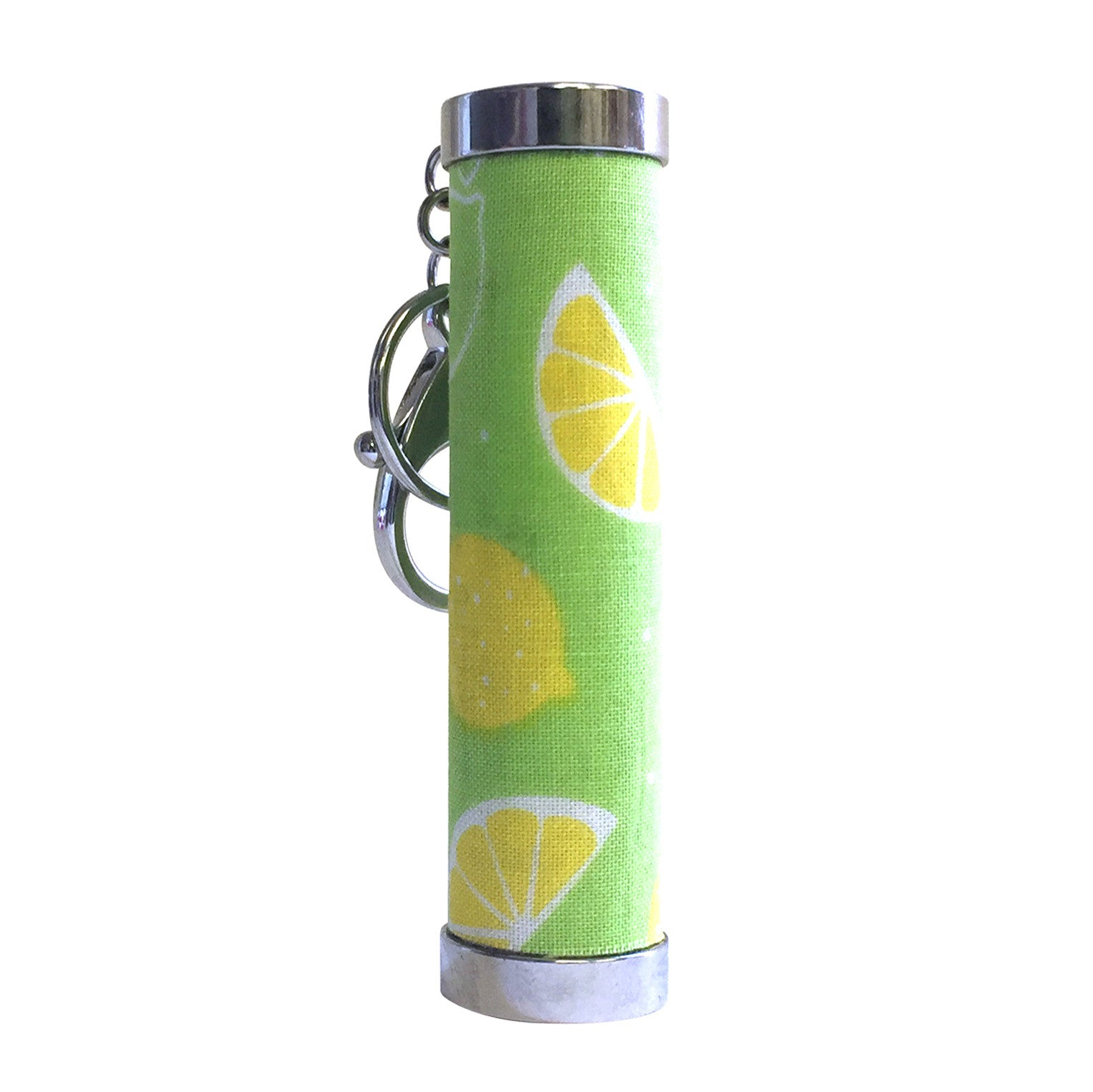 Lemon Zest (with key ring and clip)