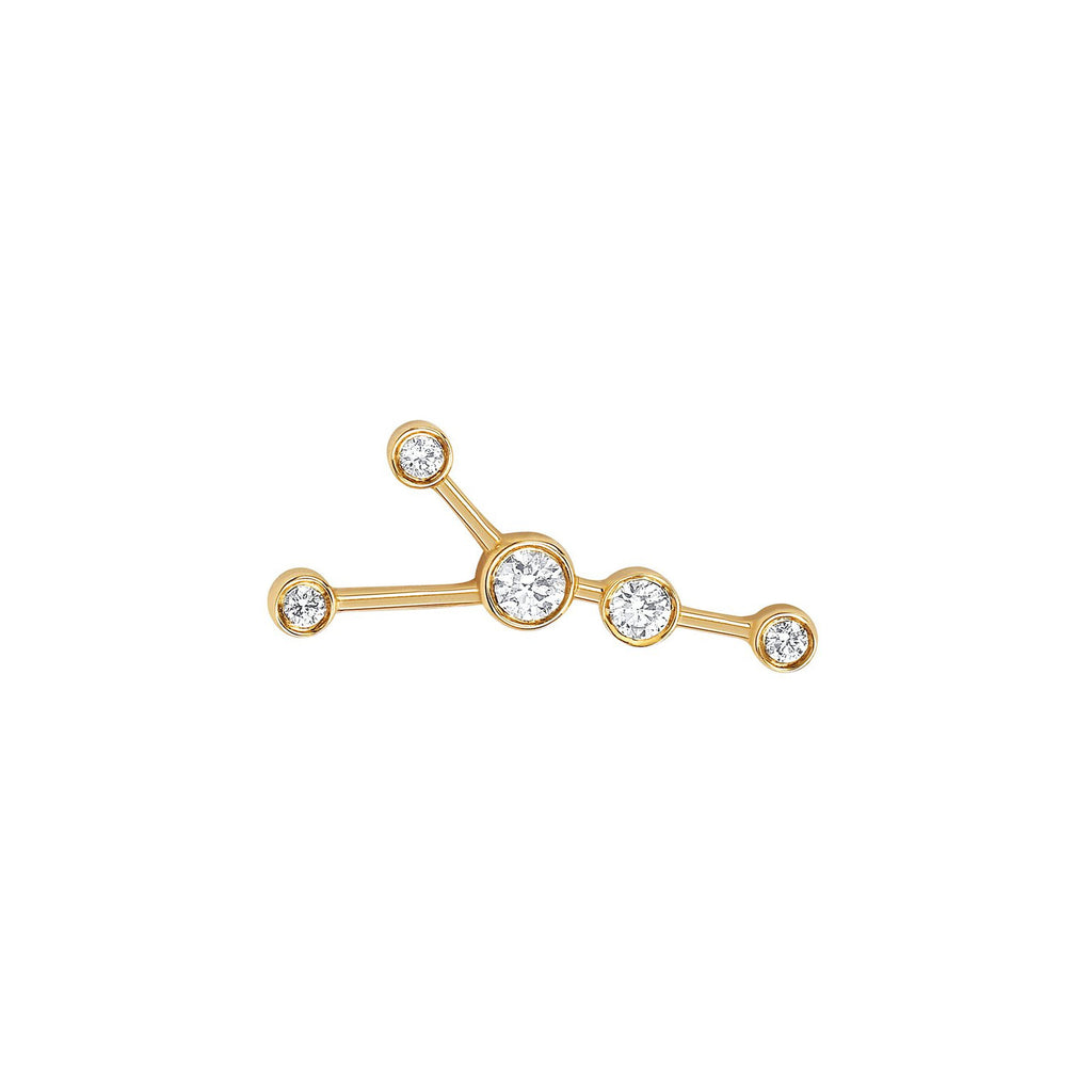 Cancer Diamond Constellation Studs Cancer Diamond Constellation Studs