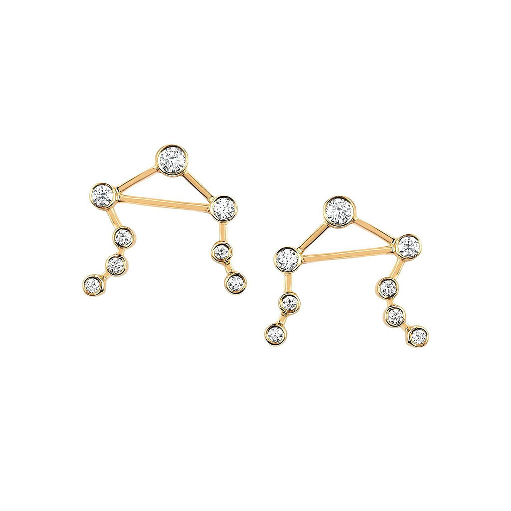 Libra Diamond Constellation Studs Libra Diamond Constellation Studs