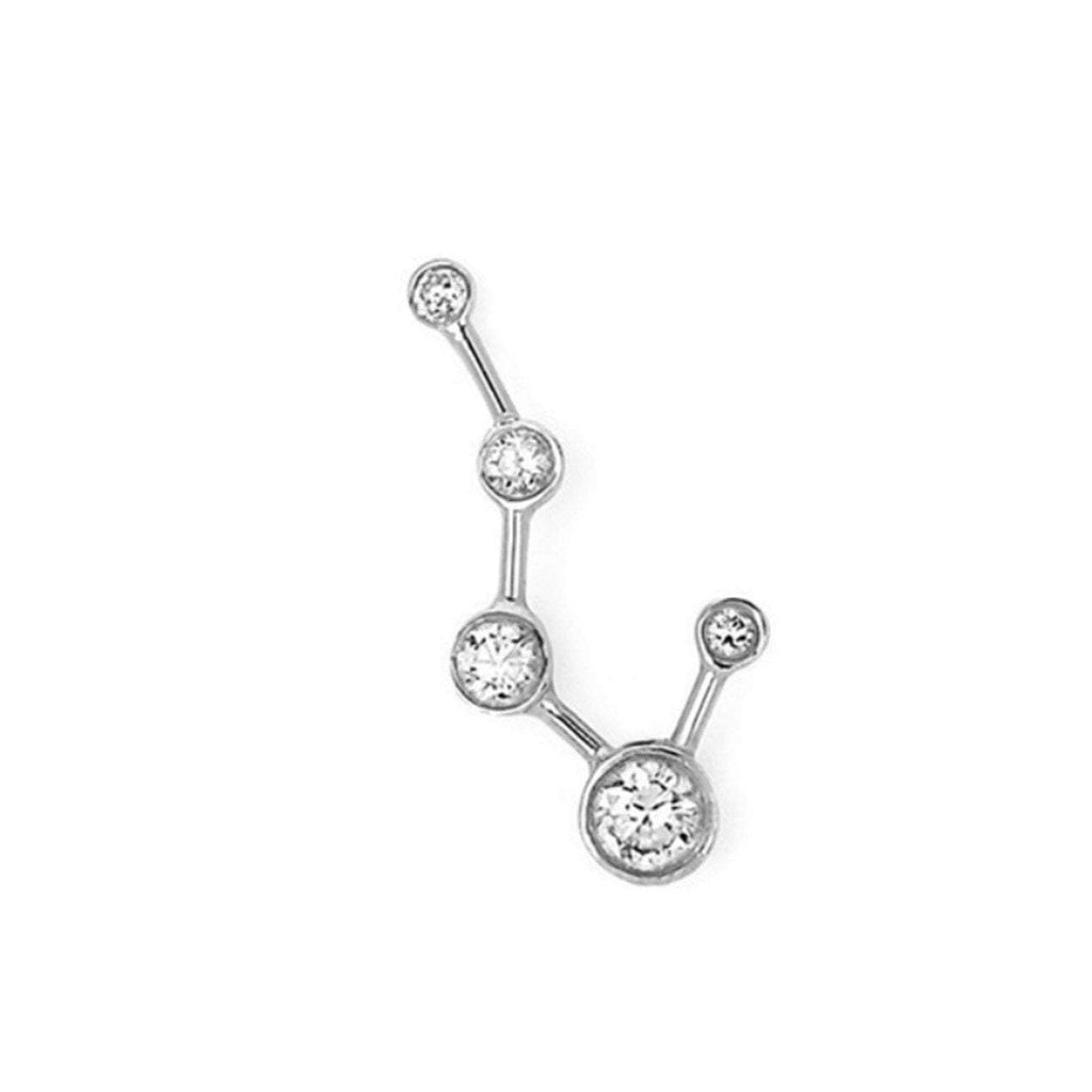 Big Dipper Diamond Constellation Earrings Big Dipper Diamond Constellation Earrings
