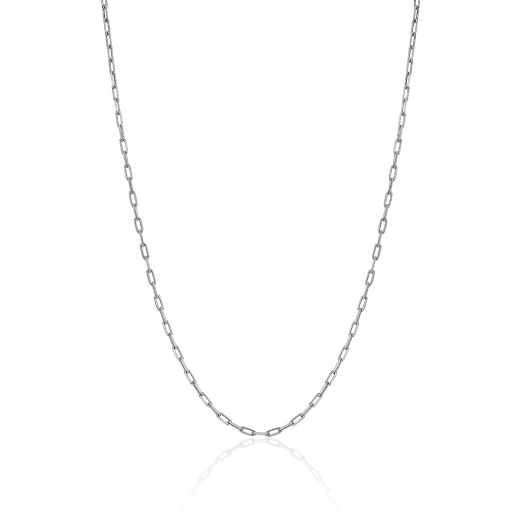 NEW! Baby Alchemy Link Necklace White Gold